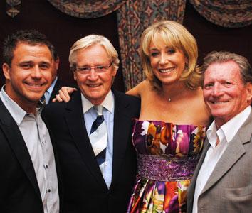 Craig attends William Roache MBE Golf Day