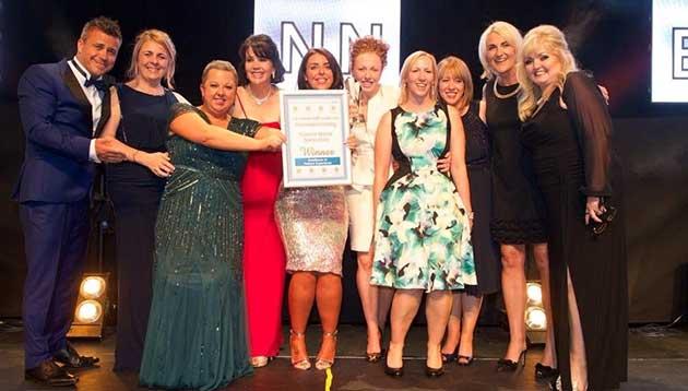 Craig Phillips - NHS Trust awards ceremony