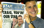 Craig in celebrity Star